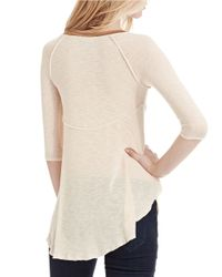 Free People | Natural Weekends Layering Top | Lyst