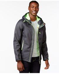 Superdry - Gray Windtrekker Jacket for Men - Lyst
