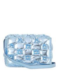 Benedetta Bruzziches | Blue Carmen Quilted Laminated Shoulder Bag | Lyst
