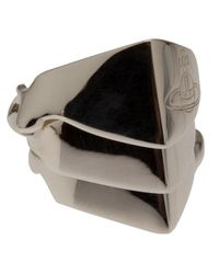 Vivienne Westwood | Metallic Knuckleduster Ring | Lyst