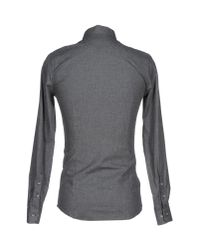 ELEVEN PARIS - Gray Shirt for Men - Lyst