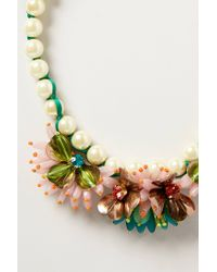 Rada' - Multicolor Lily Bib Necklace - Lyst