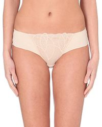 Wacoal - Natural Simply Sultry Hipster Briefs - Lyst