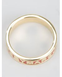 Marc By Marc Jacobs - Metallic 'dreamy' Logo Ring - Lyst