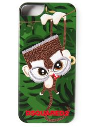DSquared² | Green Monkey Phone Case for Men | Lyst