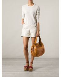 Claudio Orciani - Brown Woven Tote - Lyst