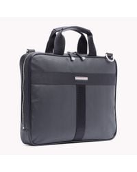 Tommy Hilfiger - Black Darren Briefcase for Men - Lyst