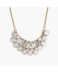 Madewell - Metallic Coinseal Statement Necklace - Lyst