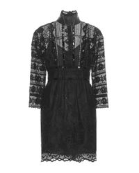 Marc Jacobs - Black Lace Dress - Lyst