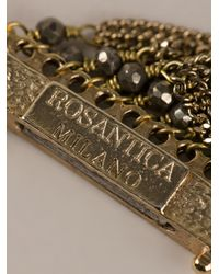 Rosantica - Metallic Chain Necklace - Lyst