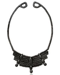 Mariah Rovery | Black Colar Rainha Necklace | Lyst