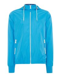 Blend | Blue Casual Full Zip Windbreaker for Men | Lyst