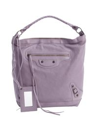 Balenciaga - Glycine Purple Leather Classic Day Bag - Lyst
