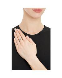 Munnu - White Diamond Ring - Lyst