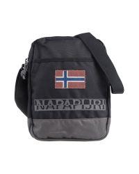 Napapijri - Black Under-Arm Bags for Men - Lyst