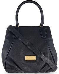 Marc Jacobs | Black Fran Leather Shoulder Bag | Lyst