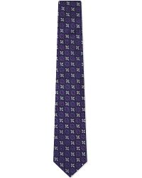 Turnbull & Asser | Spades Silk Tie, Men's, Purples for Men | Lyst