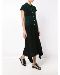Marni - Black Collared Dress - Lyst