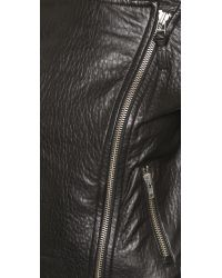 Mackage - Black Lisa Leather Jacket - Lyst