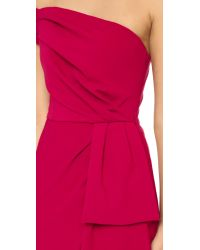Black Halo - Red Janie Bryant For Angelica Dress - Lyst