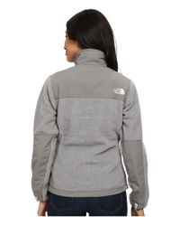 The North Face - Gray Denali Jacket - Lyst
