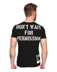 Philipp Plein - Black Cloud Lake T-shirt for Men - Lyst