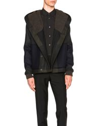 Stephan Schneider | Blue Match Jacket | Lyst