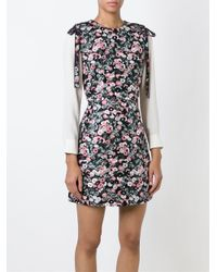 Giamba - Pink Sleeveless Floral Jacquard Dress - Lyst