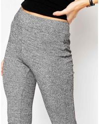 ASOS - Gray Lounge Slouch Flares - Lyst