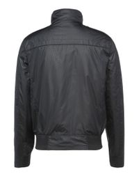 BOSS Green Black Regular-fit Leather Jacket With A Fine Grain: 'c-jordes' for men