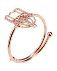 Loroetu - Metallic Ring - Lyst
