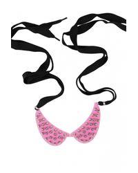 Yazbukey | Black Multistuds Necklace | Lyst