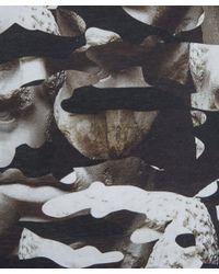 Neil Barrett - Black Statue Camouflage T-Shirt for Men - Lyst