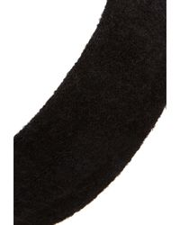 Forever 21 | Black Ribbed Knit Headwrap | Lyst