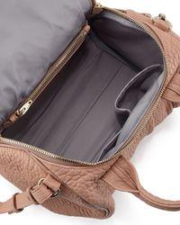 Alexander Wang | Natural Rockie Calfskin Satchel Bag | Lyst