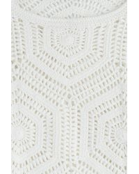 Closed - Cotton Knit Pullover - White - Lyst