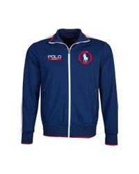 Pink Pony | Blue Cotton-blend Track Jacket for Men | Lyst