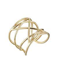 Marc By Marc Jacobs | Metallic Lost & Found Marjorie Cuff Bracelet | Lyst