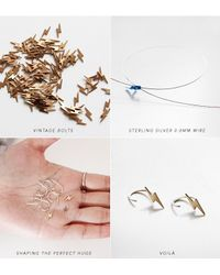 Jenny Bird | Metallic Indra Huggies Sterling-Silver Earrings | Lyst
