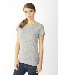 Alternative Apparel - Gray Ideal Printed Eco-Jersey T-Shirt - Lyst
