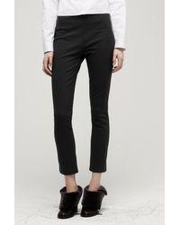 Rag & Bone - Black Straight-legged Trousers - Lyst