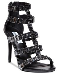 Steve Madden | Black Women'S Famme Dress Sandals | Lyst