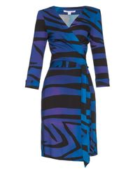 Diane von Furstenberg | Blue New Julian Two Silk-Jersey Dress | Lyst