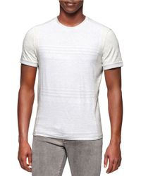 Calvin Klein Jeans | White Crewneck Tee for Men | Lyst