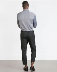 Zara | Gray Houndstooth Shirt for Men | Lyst