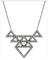 House of Harlow 1960 | Metallic Pavé Tessellation Pendant Necklace | Lyst