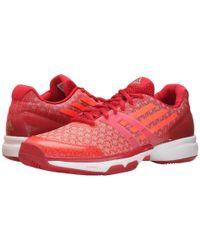 Adidas | Red Adizero Ubersonic | Lyst