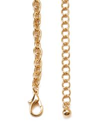 Forever 21 - Metallic Butterfly Bib Necklace - Lyst