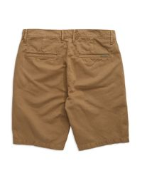 7 For All Mankind | Natural Solid Chino Shorts for Men | Lyst