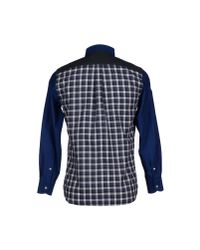 Harmont & Blaine - Blue Shirt for Men - Lyst